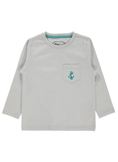 Cvl Cvl Erkek Çocuk Sweatshirt 2-5 Yaş Gri Cvl Erkek Çocuk Sweatshirt 2-5 Yaş Gri Gri